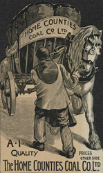 Advert for the Home Counties Coal Co Ltd